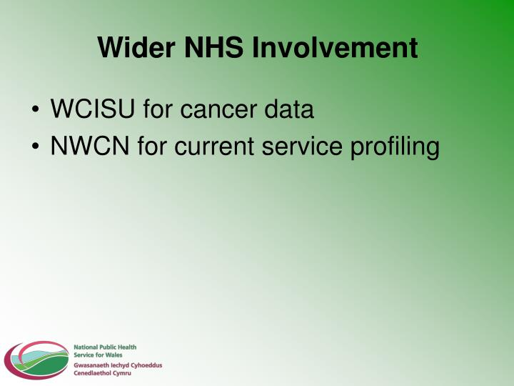Wider NHS Involvement