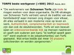 torfs beste werkgever 500 2012 vlerick 2012