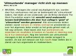 uitmuntende manager richt zich op mensen metro 26 1 10