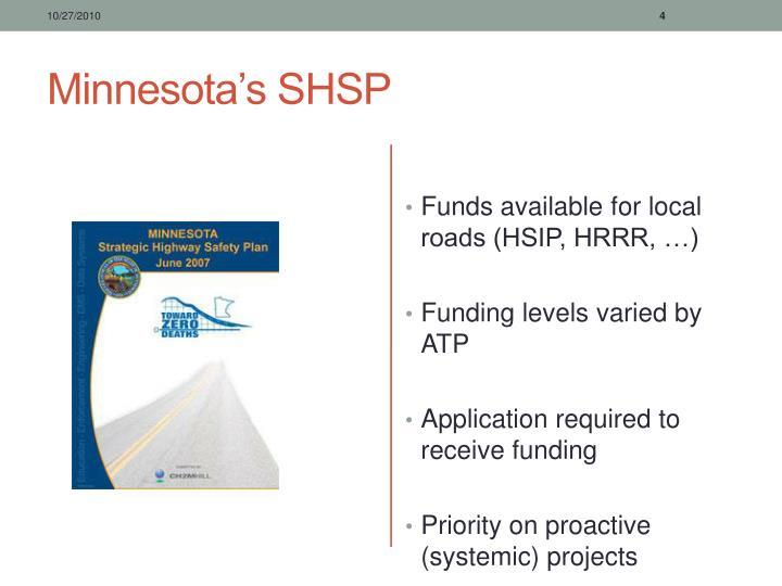 Minnesota's SHSP