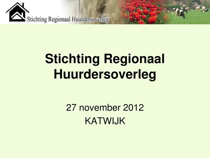 Stichting Regionaal Huurdersoverleg