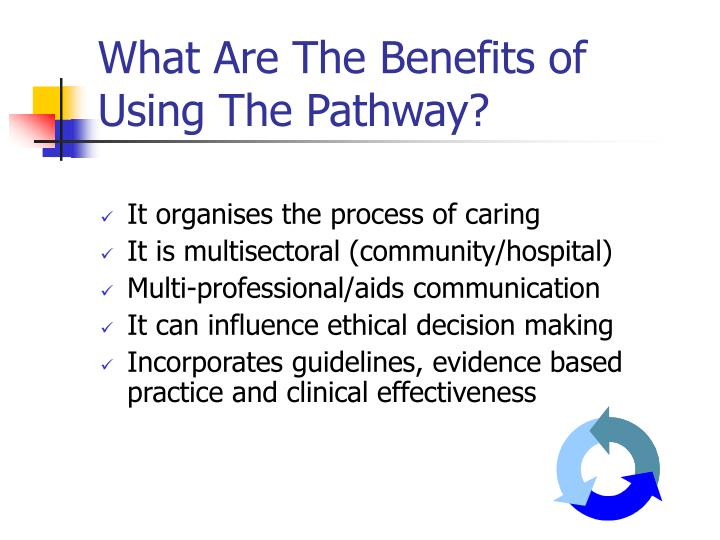 What Are The Benefits of Using The Pathway?