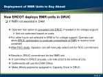 deployment of rmr units in day ahead1