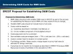 determining o m costs for rmr units1