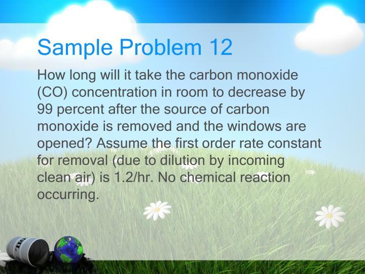 Sample Problem 12