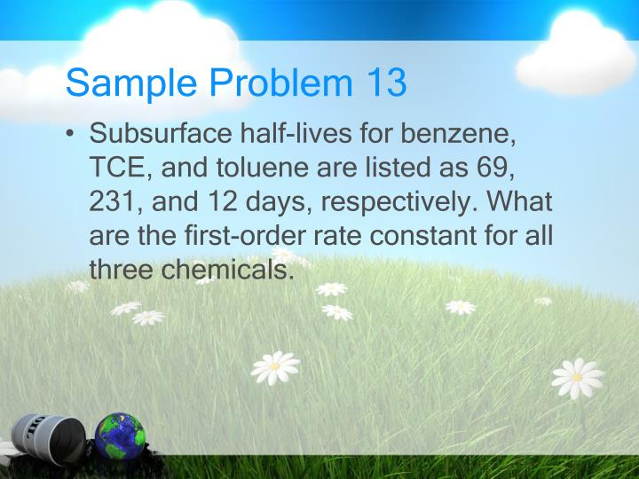 Sample Problem 13