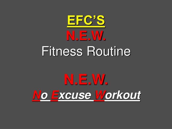 EFC'S