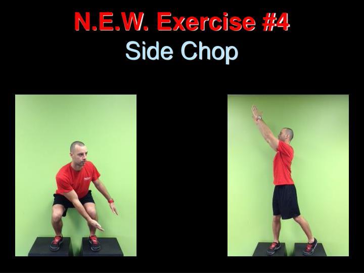 N.E.W. Exercise #4
