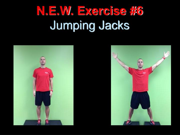 N.E.W. Exercise #6