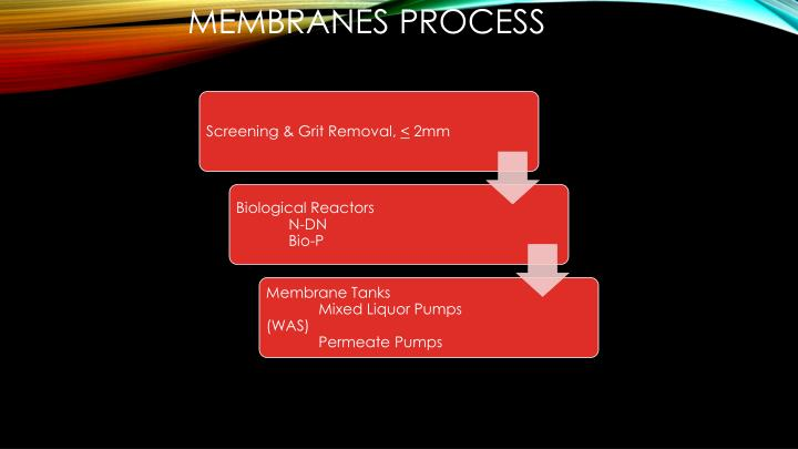 MEMBRANES Process