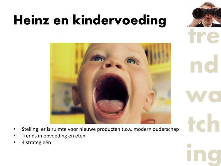 Heinz en kindervoeding