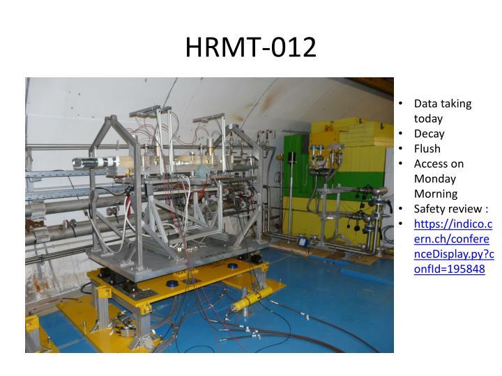 HRMT-012