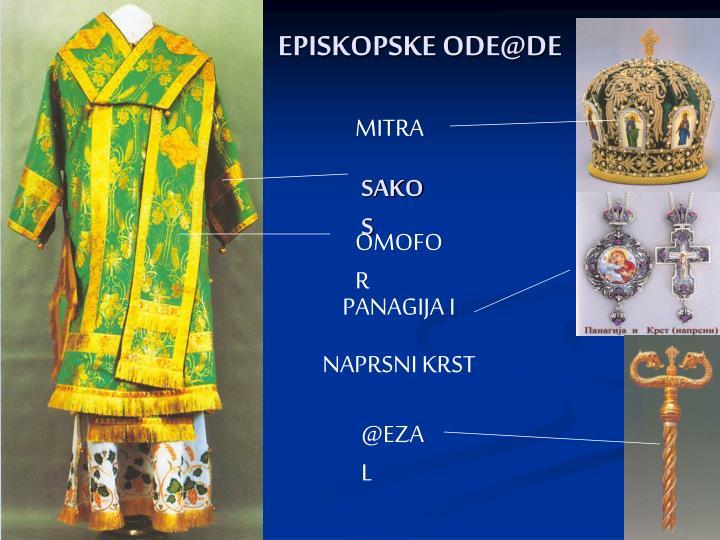 EPISKOPSKE ODE@DE