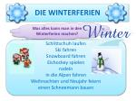 die winterferien