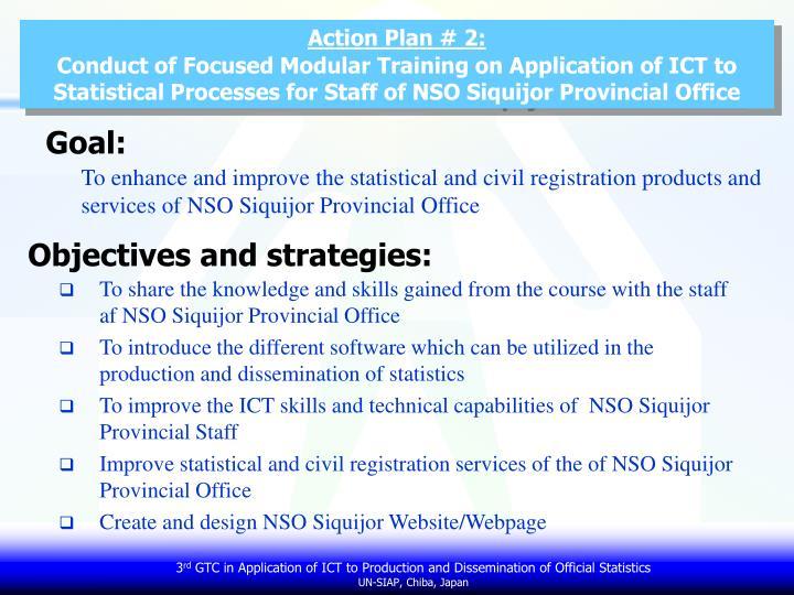 Action Plan # 2: