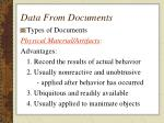 data from documents23