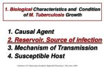 1 biological characteristics and condition of m tuberculosis growth1