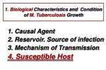 1 biological characteristics and condition of m tuberculosis growth3