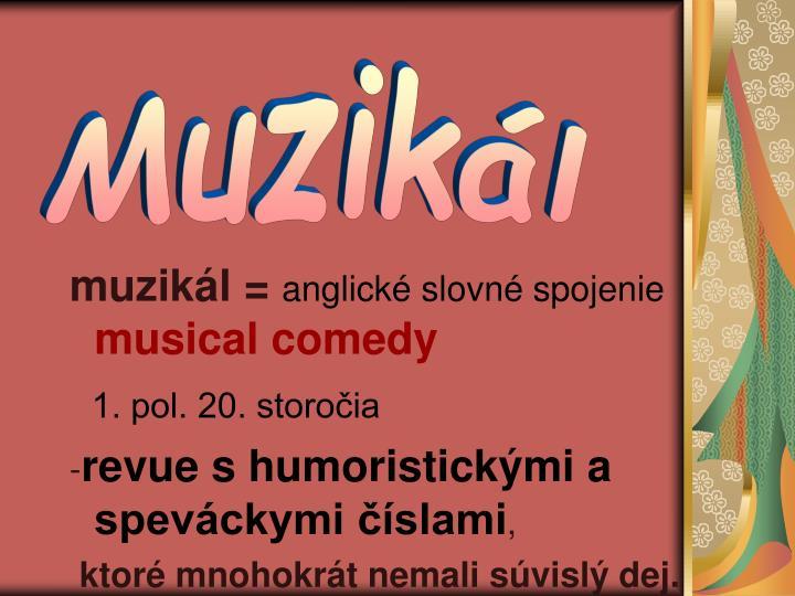 muzikál =