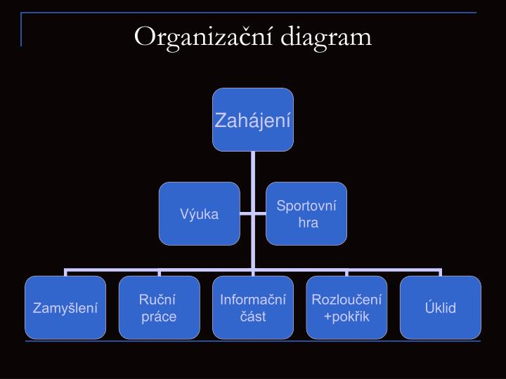 Organiza n diagram