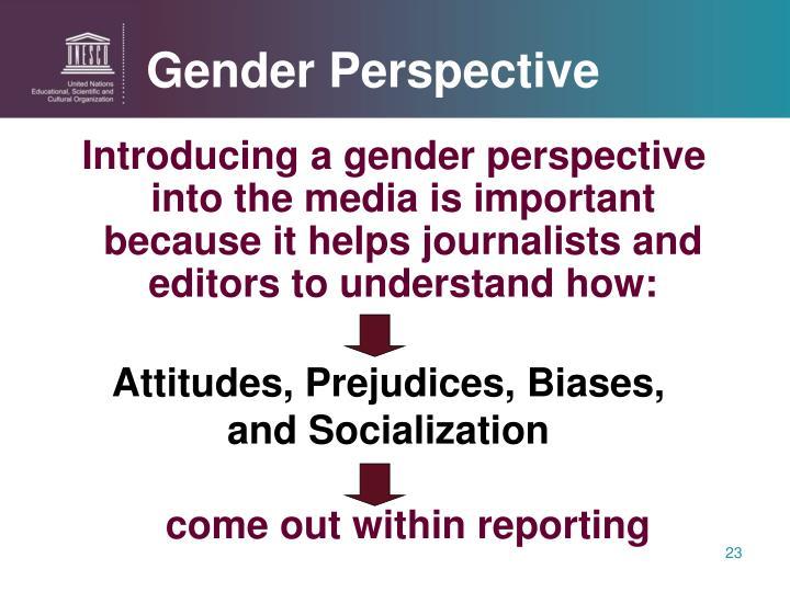 Gender Perspective