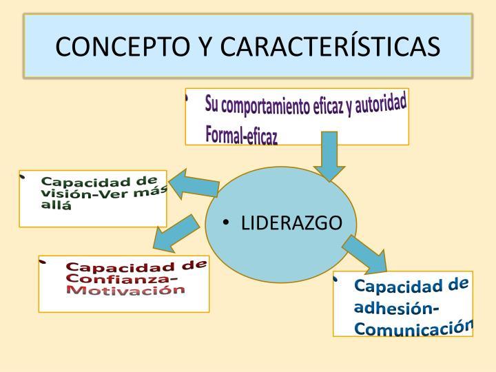 CONCEPTO Y CARACTERÍSTICAS