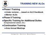 training new alos