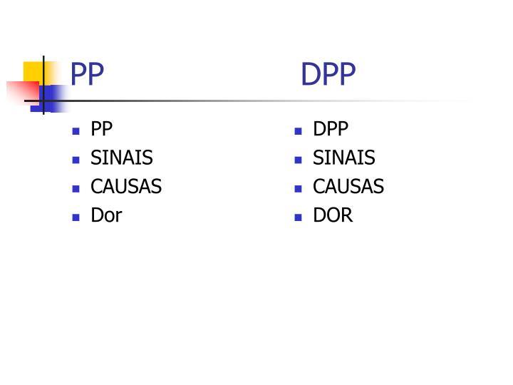 PP                    DPP