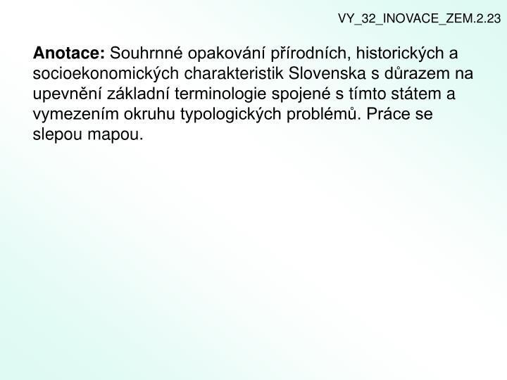 VY_32_INOVACE_ZEM.2.23