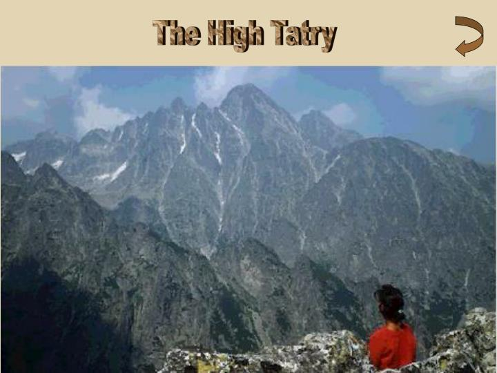 The High Tatry
