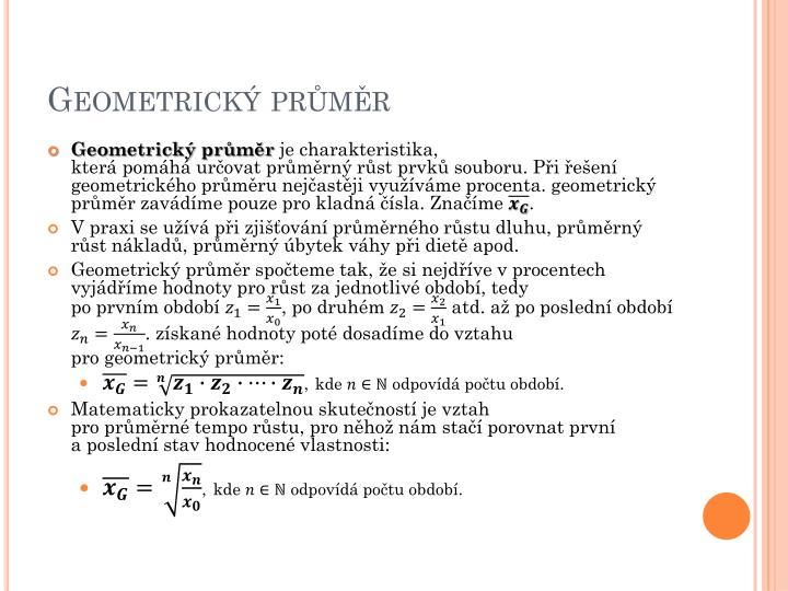 Geometrick prmr