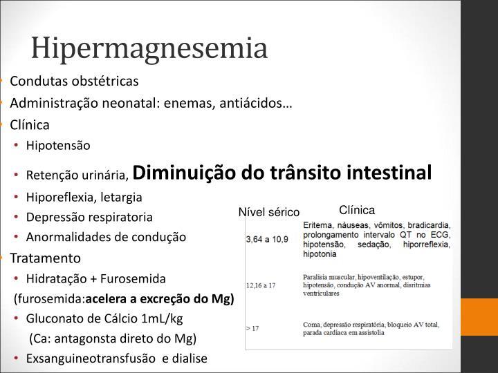 Hipermagnesemia