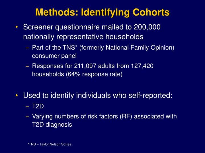 Methods: Identifying Cohorts