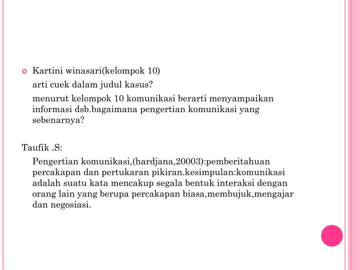 Kartini winasari(kelompok 10)