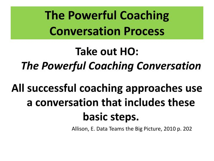 The Powerful Coaching