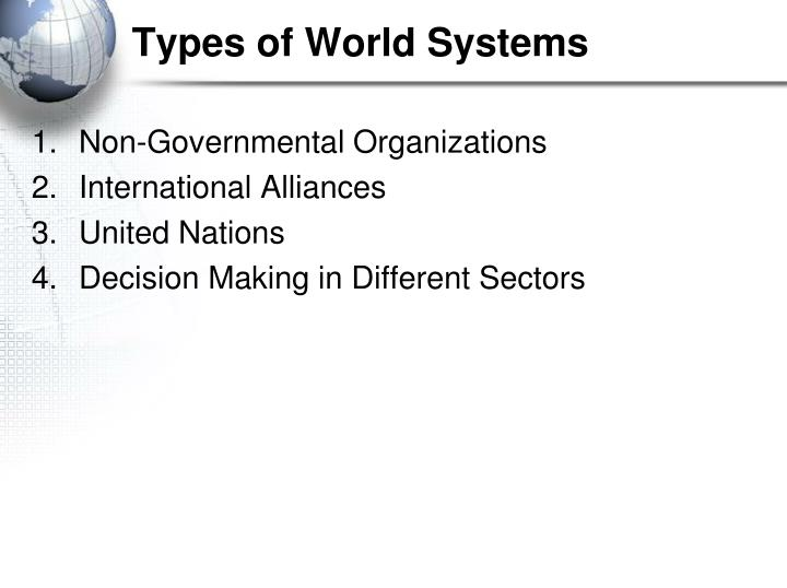 Types of world systems1