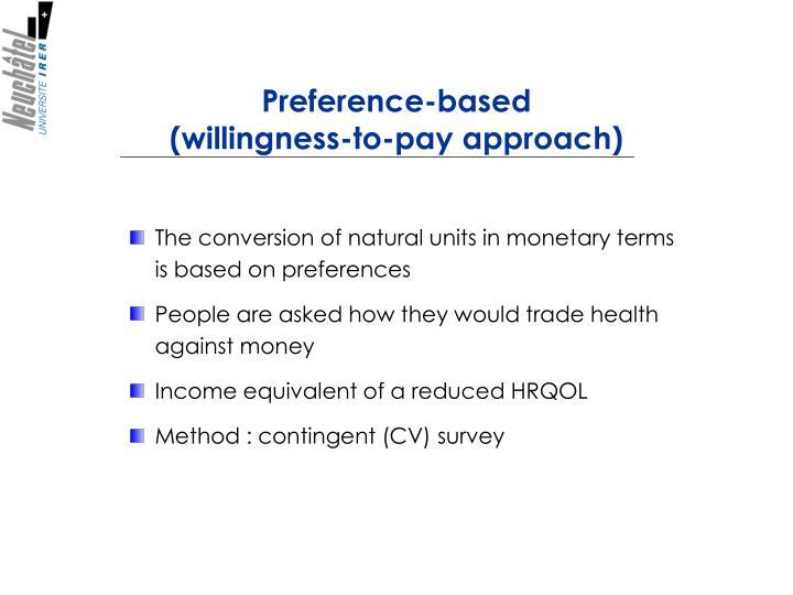 Preference-based