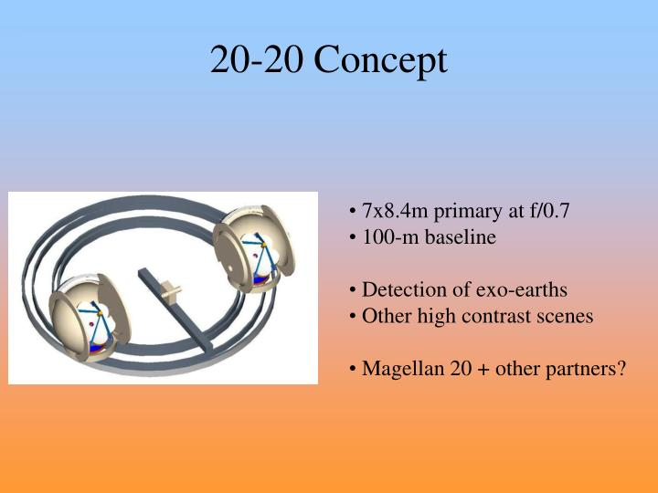 20-20 Concept