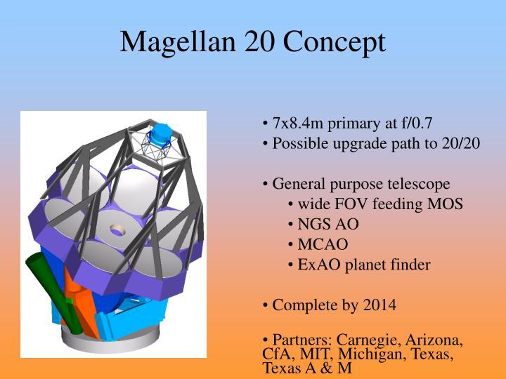 Magellan 20 Concept