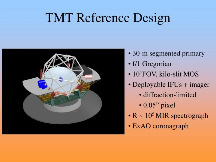 TMT Reference Design