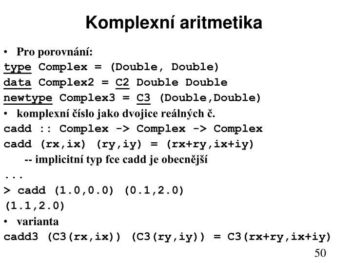 Komplexní aritmetika