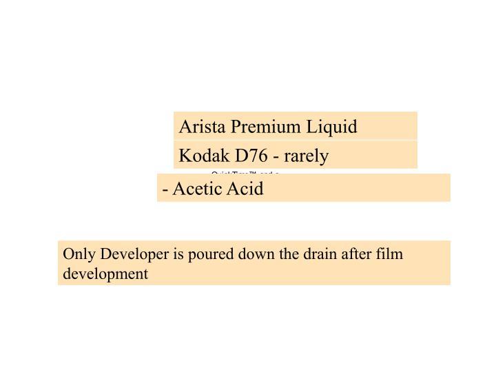 Arista Premium Liquid
