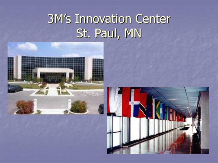 3M's Innovation Center
