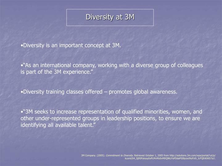 Diversity at 3M