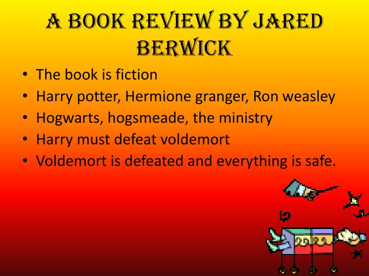 A book review by jared berwick1