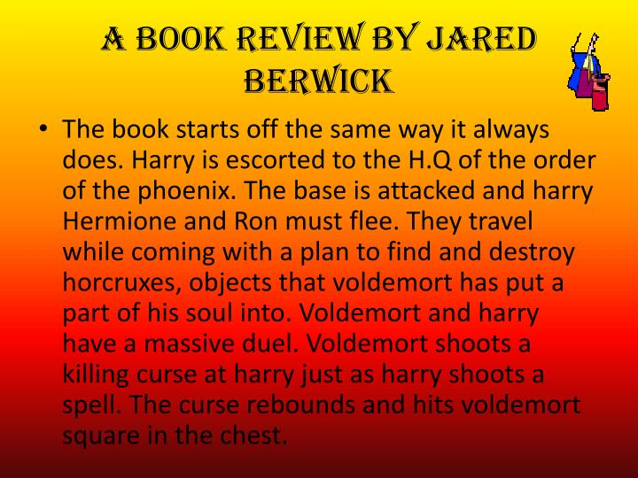 A book review by jared berwick2