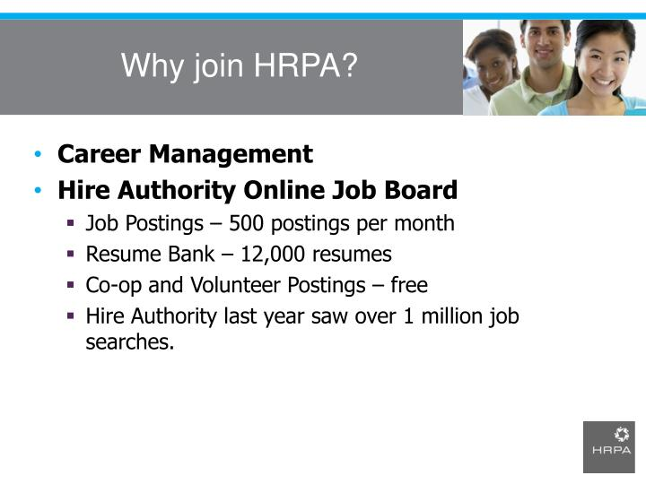 Why join HRPA?