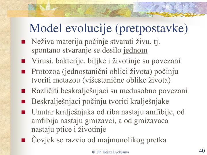 Model evolucije