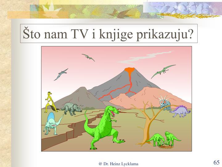 Što nam TV i knjige prikazuju?