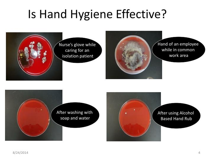 Is Hand Hygiene Effective?